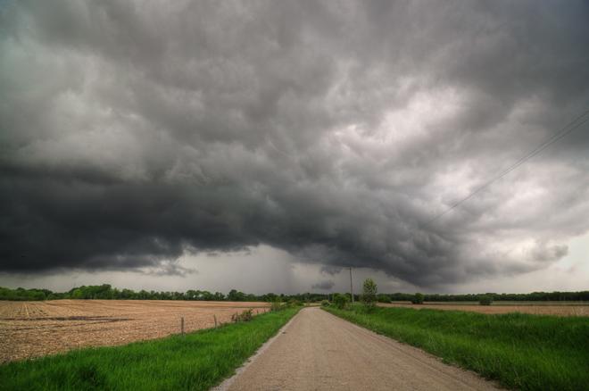 Backroad storm