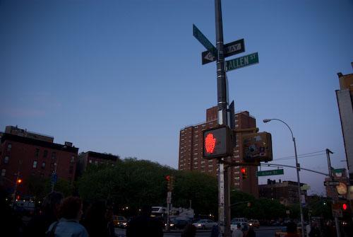 Allen Street in NYC