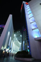 Shanghai - Yaohan Department Store (cnmark) Tags: china light building architecture night facade geotagged noche store shanghai angle nacht explore noite   pudong nuit department notte no1 nachtaufnahme yaohan  explored allrightsreserved  superaplus aplusphoto zhangyangroad  mygearandmepremium  pudongsouthroad diyibabaiban newcenturycommercebuilding  geo:lat=31229674 geo:lon=121512571
