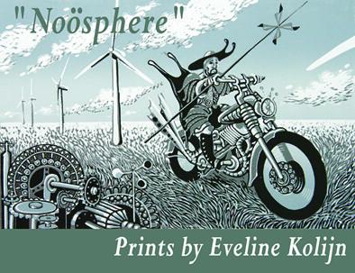 Eveline Kolijn postcard