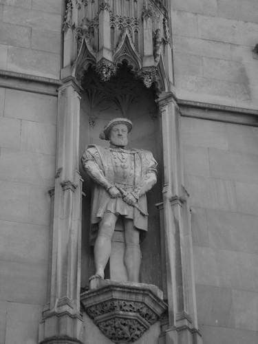 Henry VIII -BW
