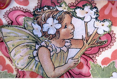 Fairy applique on bloomers
