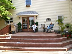 Back Porch (otherliz) Tags: wedding nc deck ceremonysite receptionsite kernersvillenc dewberrymanor
