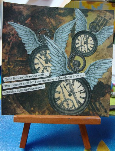 4X4... Time Flies! by keepsakescrafts.