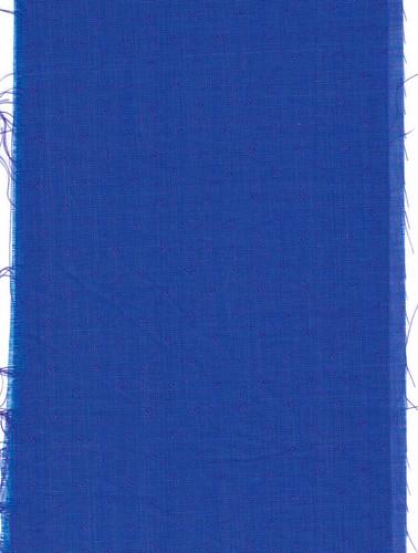 Blue purple cotton dobby