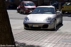 Porsche 911 Carrera 4S (Pablo Lasheras Photography) Tags: red españa car grey gris spain rojo uncle 911 zaragoza coche porsche 4s carrera aragón tío photosoot 345cv
