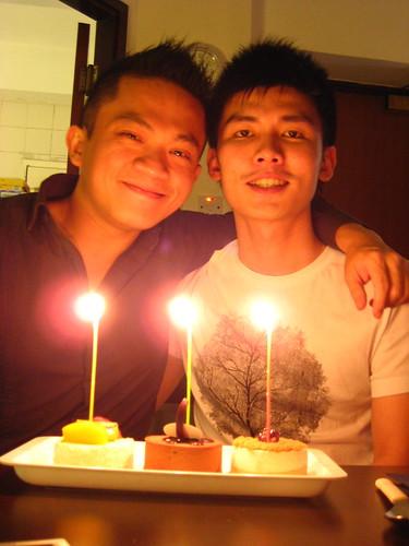 Ian and I