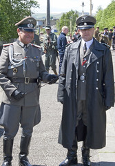 German Officers 1940 (Lazenby43) Tags: bury uniform military thirdreich ironcross 1940s spitfire reenactment raf wartime ww11 eastlancsrailway germanofficer