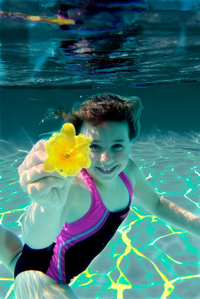 Underwater w/ Flower