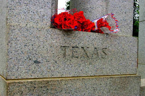 WWII Memorial- Texas