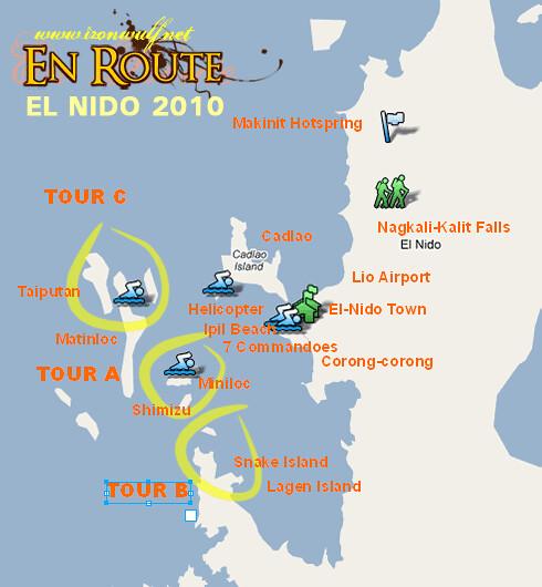 El Nido Tour 2010