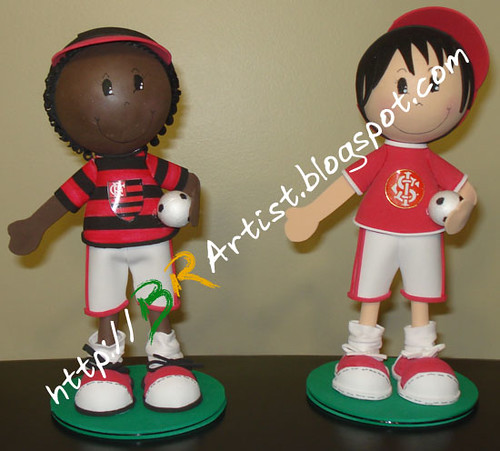 Fofucho Inter e Fofucho Flamengo
