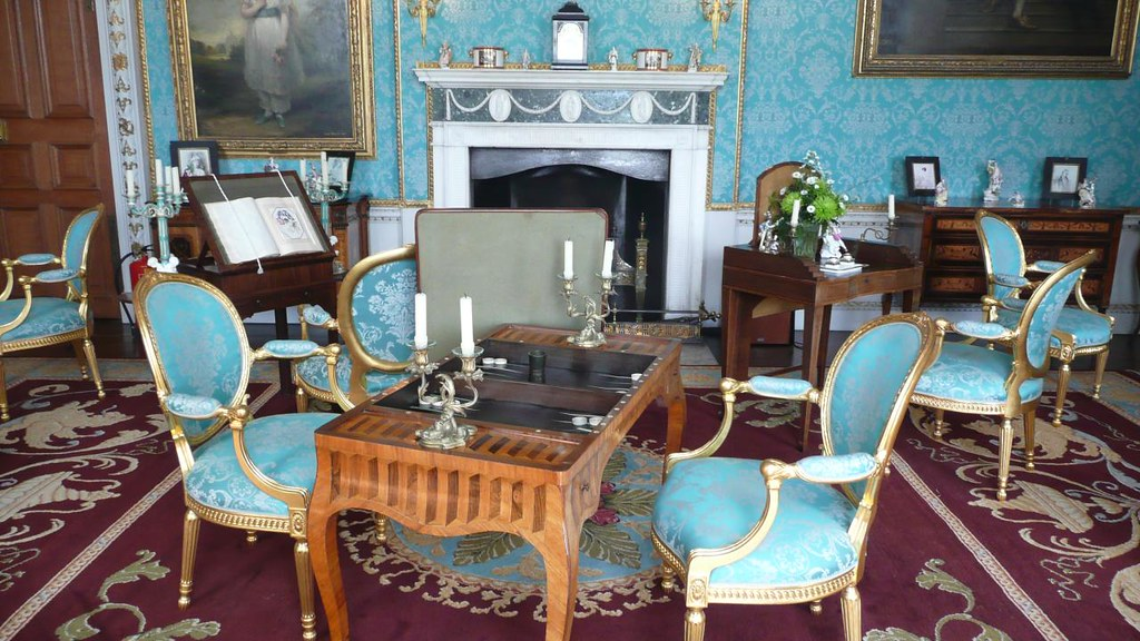 Turquoise Drawing Room at Castle Howard