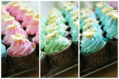Calica's Sweet Seventeen Cupcakes