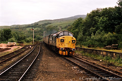 37027 'Loch Eil' at Garelochhead (blackwatch55013) Tags: locheil class37 37027 garelochhead scottish37