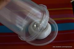 Manualidades: Lámparas o farolillos con tupperware reciclado