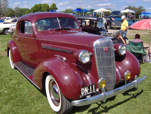 1936 Buick Century. 1936 Buick Century Coupe. American Built Buick, Port Perry Ont.