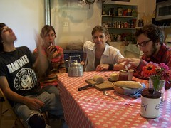 breakfast with kids II (Cynthia Del Giudice) Tags: family portrait coffee kids breakfast mother mate yerba mothersday