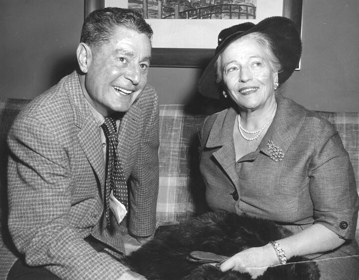 Leo McCarey and Pearl Buck