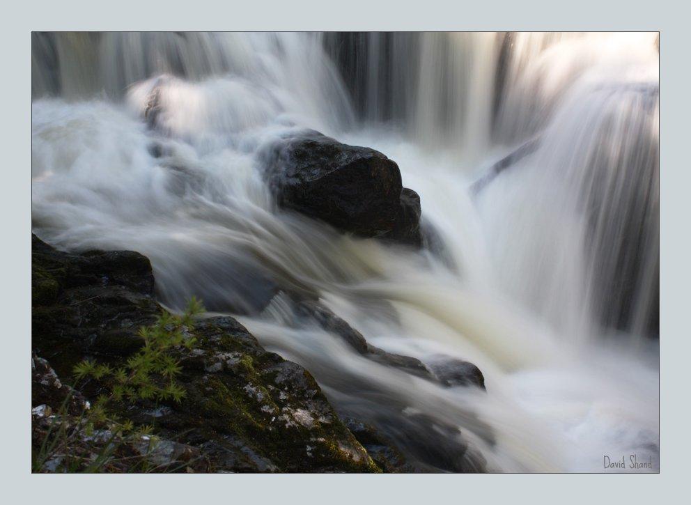 The Reekie Linn Waterfall.