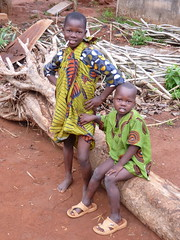 Local kids, Abomey, Benin