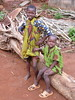 Local kids, Abomey, Benin