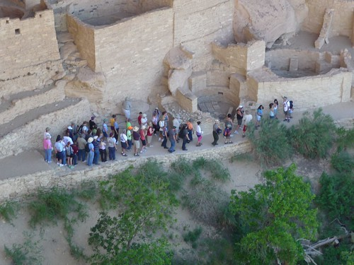 tour of the cliff dwellings.