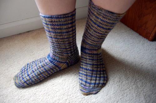 FO: Tricoter Socks