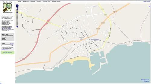 OpenStreetMap de Vilanova i la Geltrú abans de l'inici de les 3es Jornades de la Penedesfera