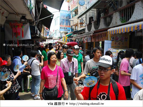 【2010香港節慶年 】香港節慶盛事~長洲太平清醮包山節(上)10