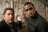 "Aaron (JONAH HILL) and company boss Sergio (SEAN COMBS) in ""Get Him to the Greek"""
