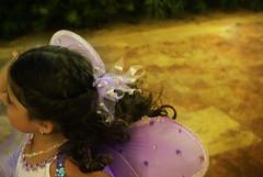 fast fairy (citygirlny10305) Tags: vacation beach wings purple pentax longhair dressup carribean naturallight aruba fairy tropical sequins brownhair neclace cs4