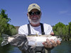 Jim with a nice Klamath River Spring Steelie