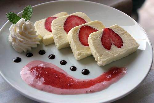 Jogurtova terina s jahodama
