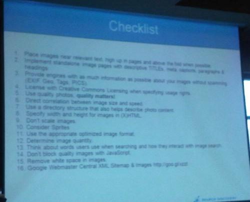 checklist slide