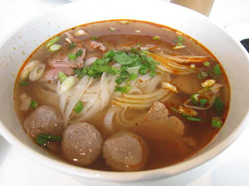 Beef special pho at Cafe VN