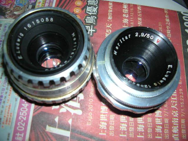 E. Ludwig Meritar 50mm F2.9