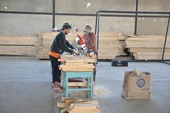 Construcción de Casas de Emergencia de Proyecto Propio