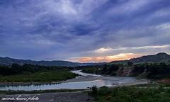ERZENI RIVER (Saimir.Kumi) Tags: sunset sky cloud green river landscape fuji finepix re albania lumi tirana lume shqiperi peisazh s9600 qiell perendim erzen gjelber