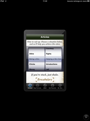 Application iPhone sur iPad