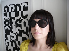 Haircut! (Anna @ D16) Tags: hello anna haircut me sunglasses self 2010 anneetvalentin 34yearsold
