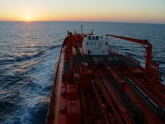 Bow Favour in Mediterian Sea (Gunnar Eide) Tags: ocean sea maritime bow tanker favour odfjell