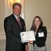 Ken Hunter, PRSA-NJ President, & Melissa Klein