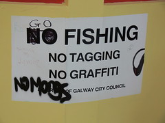 No Graffiti (magnum_lady) Tags: ireland galway sign oops