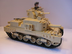 "Brickmania British M3 Grant (""Rumrunner"") Tags: army tank lego grant wwii ww2 british m3 armour worldwar2 allies brickmania"