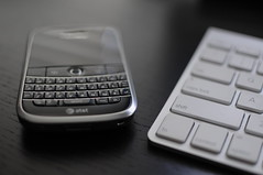 Blackberry Bold 9000 (Mitchell Camps) Tags: apple nikon keyboard imac blackberry wireless bold d300 35mmf18 bold9000