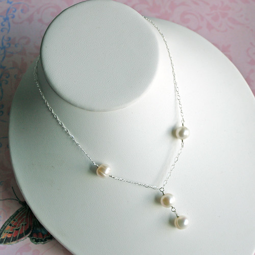 Pearl Y-necklace