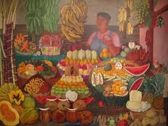 La vendedora de frutas, Olga Costa in the Museo De Arte Moderno, D.F