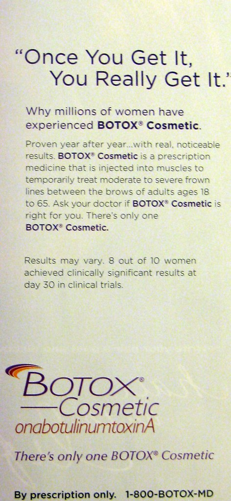 drollgirl stupid ads stupid slogans botox