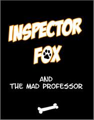 Comic 01 - Inspector Fox (WF portraits) Tags: bear blue portrait dog black male yellow club fetish naked beard model uniform comic teddy muscle chest location rubber story fox latex professor mad cuffs